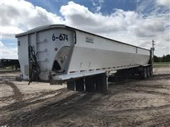 2006 Aulick 4860543 Tri/A Live Bottom Trailer