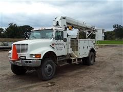 1996 International 4800 AWD Digger Derrick Boom Truck