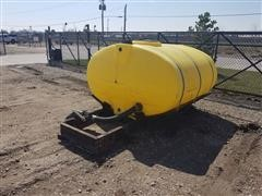 1000 Gallon Elliptical Sprayer Tank