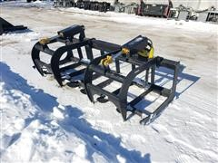 2019 Mid States Brush Grapple Skid Steer Attachment