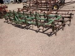 John Deere 18' Field Cultivator W/Nobles 3 Bar Harrow