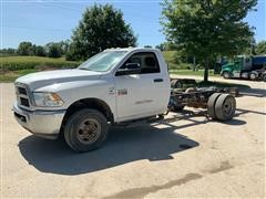 2012 Dodge Ram 3500 Heavy Duty Cab & Chassis Pickup