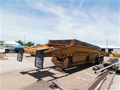 1979 Load King 2030 T/A Belly Dump Trailer