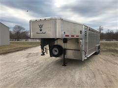 2017 Wilson Ranch Hand T/A Gooseneck Livestock Trailer