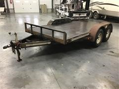 2003 Homemade 12' T/A Flatbed Utility Trailer