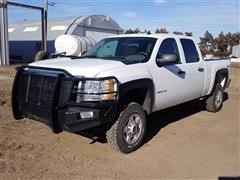 2014 Chevrolet 2500HD Crew Cab 4x4 Pickup