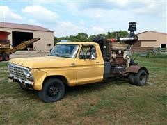 1979 Ford F-350 Truck With Mounted 855 Cummins Power Unit