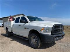 2012 Ram 2500 Heavy Duty Crew Cab Service Truck