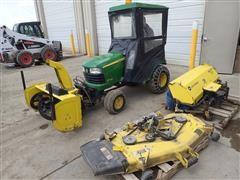 2007 John Deere X720 Lawn Tractor W/Accesories