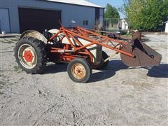1949 Ford 9N 2WD Tractor W/Dearborn Loader
