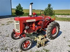 1957 Farmall 130 2WD Tractor W/Woods L-59 Belly Mower