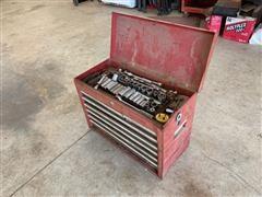 Craftsman Toolbox W/ Tools
