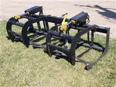 2020 Mid-State Root/Brush Grapple Skid Steer Attachment