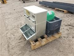 Behlen Hog Feeder/Cattle Electric Waterer