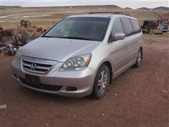 2007 Honda Odyssey 8 Passenger Mini Van