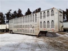1994 Barrett T/A Livestock Trailer