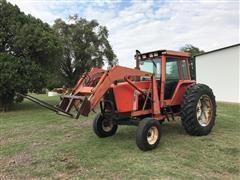 1982 Allis Chalmers 6080 2WD Row Crop Tractor w/460 Loader