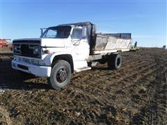 1975 GMC 6000 Side Dump Beet Truck