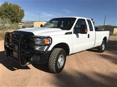 2015 Ford F250 Super Duty 4x4 Extended Cab Pickup