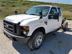 2009 Ford F350 4x4 Extended Cab & Chassis