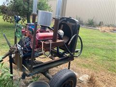 GM 350 4 Bolt Power Unit On Cart