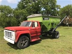 1976 Ford F600 Cab & Chassis w/Parker 305 Grain Gravity Box