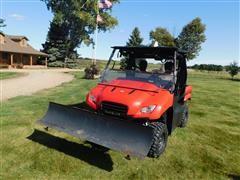 2012 Honda Big Red MUV700 4WD UTV W/Sprayer