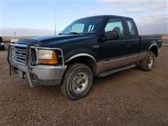 1999 Ford Super Duty F250 Extended Cab 4x4 Pickup Truck
