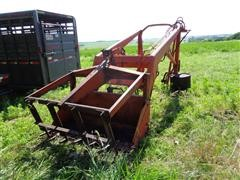 DU-AL 325 Loader W/5' Manure Bucket & 4-Tine Grapple