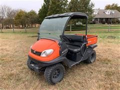 2014 Kubota RTV500 4x4 Side By Side UTV