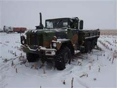 1993 American General M35A3 6x6 Military Flatbed Truck