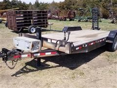 2013 Eagle T/A Flatbed Trailer