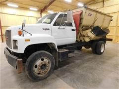1996 GMC TopKick Feeder Truck w/12' BJM Mixer Box