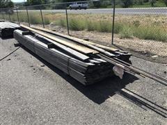 Rough Cut Lumber & Rebar