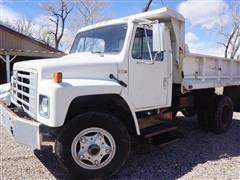 1979 International 1724 S/A Dump Truck