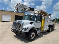 2012 International WorkStar 7400 SBA T/A Digger Derrick Truck