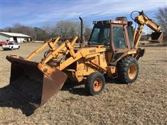 Case 580 Super E Loader Backhoe