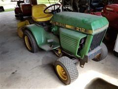 1982 John Deere 212 Riding Lawn Mower