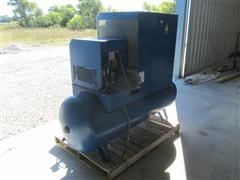 2008 Quincy QGS 15 D Rotary Screw Air Compressor With Dryer