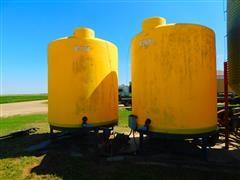 Cone Bottom Liquid Feed Tanks