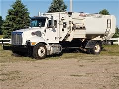 2012 Peterbilt 337 S/A Feed Truck W/Roto-Mix 620-16 Mixer Feed Box