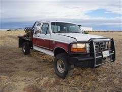 1997 Ford F250 Extended Cab Hydrabed Pickup