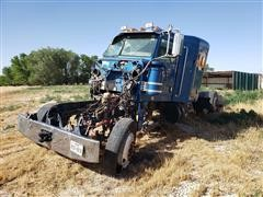 2013 Peterbilt 367 Truck FOR PARTS ONLY