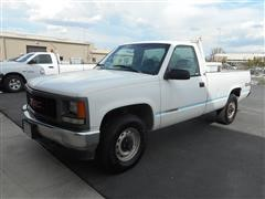 1995 GMC 2500 SL 4x4 Pickup