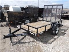 2012 Unused Sure-Trac Utility Trailer