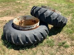Firestone 18.4-38 Tires On DMI Clamp-On Duals