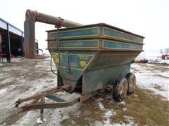 grain-O-vator 160 Bushel T/A Auger Feeder Wagon