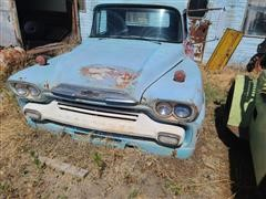 1958 Chevrolet 60 Viking Pickup Cab For Parts