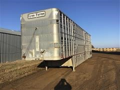 1994 Wilson PSDCL302 T/A Cattle Pot
