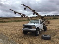 1995 Ford F350 4x4 Pickup W/Sprayer